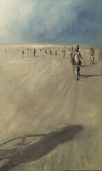 "Bild ""Bike Ride"" (2016) (Unikat)"