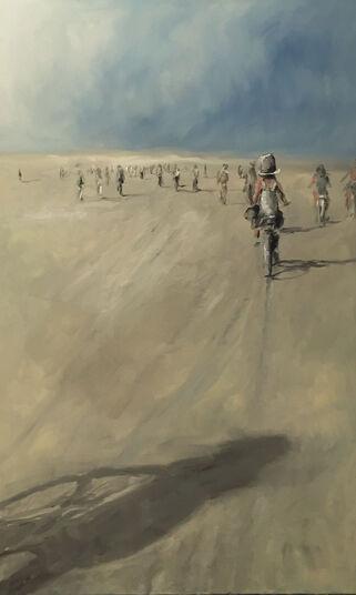 "Anne Böddeker: Bild ""Bike Ride"" (2016) (Unikat)"