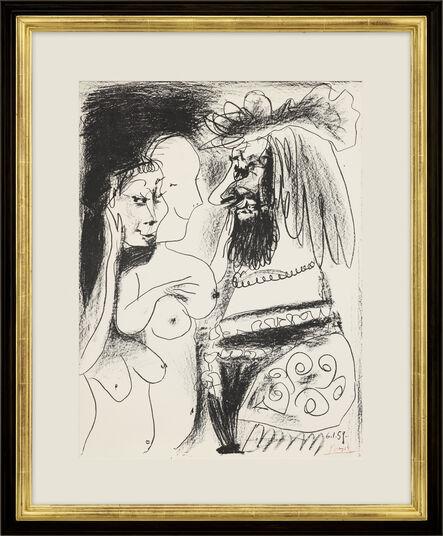 """Pablo Picasso: Bild """"Der alte König"""" (1959)"""