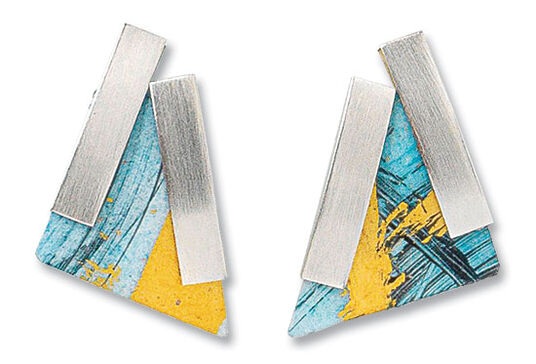 Kreuchauff-Design: Stud earrings 'Triangle'