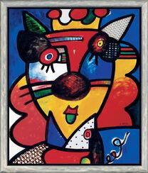 """Bild """"Der König der Löwen"""" (2004), gerahmt"""