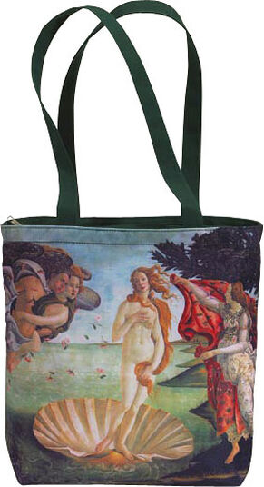 """Sandro Botticelli: Tasche """"Geburt der Venus"""""""
