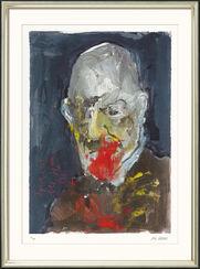 """Bild """"Sigmund Freud"""" (2006), gerahmt"""