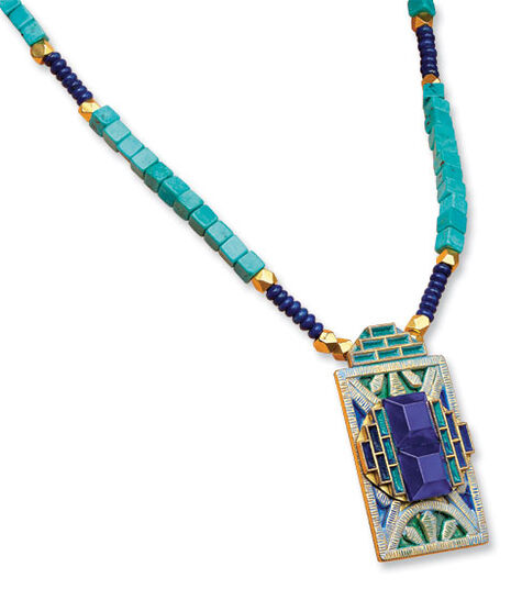 "Petra Waszak: Necklace ""Rêve"""