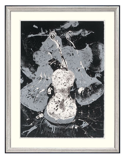 """Arman: Bild """"Violons"""" (um 1983), gerahmt"""