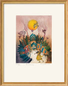 "Bild ""Fontaine"" (1992), gerahmt"