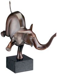 "Skulptur ""Happy Elefant"" (2004), Bronze"