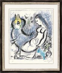 """Bild """"Die blaue Nymphe"""" (1962)"""