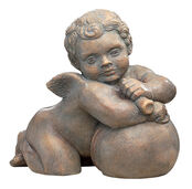 "Replica ""Cherub from the Fugge Capella IV"" (ca. 1530), artificial stone"