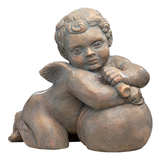 "Hans Daucher: Replica ""Cherub from the Fugge Capella IV"" (ca. 1530), artificial stone"