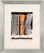 "Bild ""Archiv orange"" (2011), gerahmt"