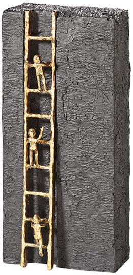 """Kerstin Stark: Skulptur """"Nach oben streben"""", Bronze mit Kunststein"""