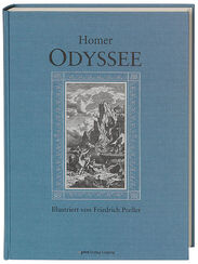 "Book reprint Homer's ""Odyssey"", illustrated by Friedrich Preller"