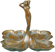 """Sculpture """"Donna con Petali"""" Bronze"""