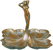 "Skulptur ""Donna con Petali"", Bronze"