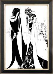 "Bild ""John and Salome"" (1894), gerahmt"