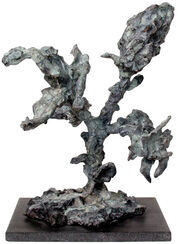 "Skulptur ""In"" (2001), Bronze"