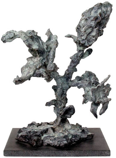 "Jonny Star: Skulptur ""In"" (2001), Bronze"