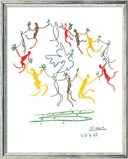 Pablo Picasso Bild Der Reigen 1961 gerahmt  ars mundi
