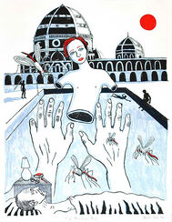 """Bild """"The Porcelain Boy"""" (2008), ungerahmt"""