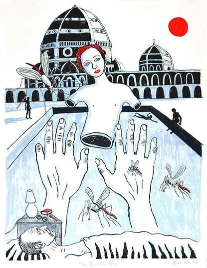 "Neal Fox: Bild ""The Porcelain Boy"" (2008), ungerahmt"