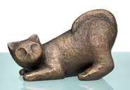 "Sculpture ""Cat Lili"" (2010), bronze"