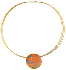 "Necklace ""Sunset"""