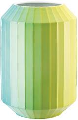 "Porzellanvase ""Hot-Spots - Lime Flush"" (groß, Höhe 28 cm)"