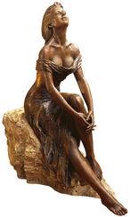 """Skulptur """"Alba"""", Kunstbronze"""