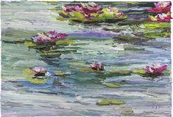 "Bild ""Monets Garten III"" (2017) (Unikat)"