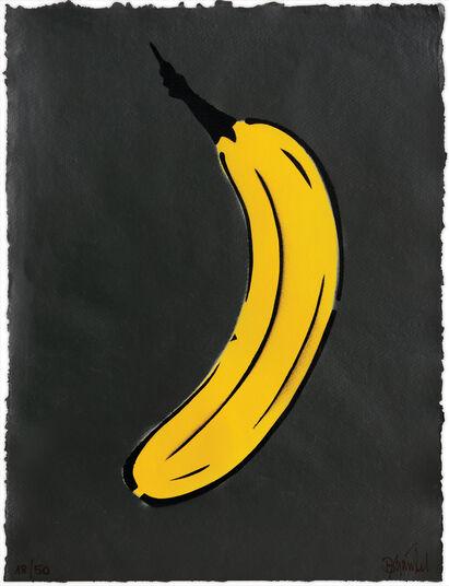 "Thomas Baumgärtel: Bild ""Schwarze Banane"" (2016)"