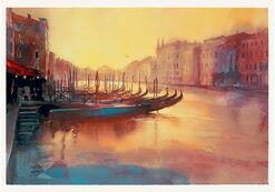 "Bild ""Early Evening Rialto"" (2003), ungerahmt"
