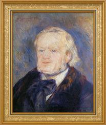 "Bild ""Richard Wagner"" (1882), gerahmt"