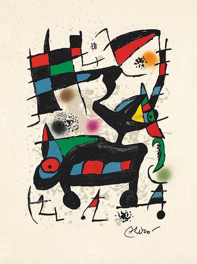 """Joan Miró: Bild """"Oda"""" (1973)"""