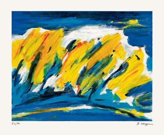 "Brigitte Hoeppe: Bild ""Herbstwind"" (1999)"