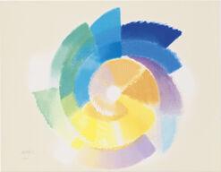 "Bild ""Pastellfarbene Rotation"" (2000)"
