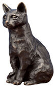 "Sculpture ""Cat"" (2011), bronze"
