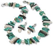 """Jewellery set """"La Mer"""""""