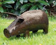 """Gartenfigur """"Hausschwein"""" (kleine Version)"""