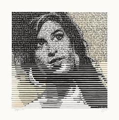 "Bild ""Amy and her drinks - Jägermeister"" (2014) (Unikat)"
