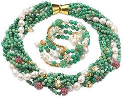 "Jewelry Set ""Empress"""