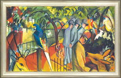 "Painting ""Zoological Garden I"" (1912), Framed"