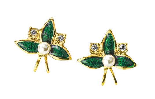 """Stud Earrings """"St. Petersburger Weeding Blooms"""""""