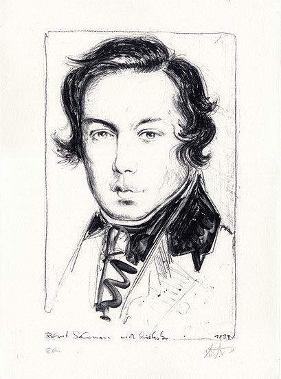 """Picture """"Robert Schumann"""""""