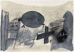 """Bild """"Oval gris"""" (1987)"""