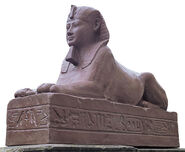 "Replica ""Sphinx of King Nectanebo"""