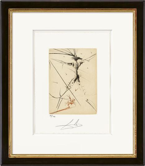 """Salvador Dalí: Bild """"Le petit chevalier"""" (1969/80)"""