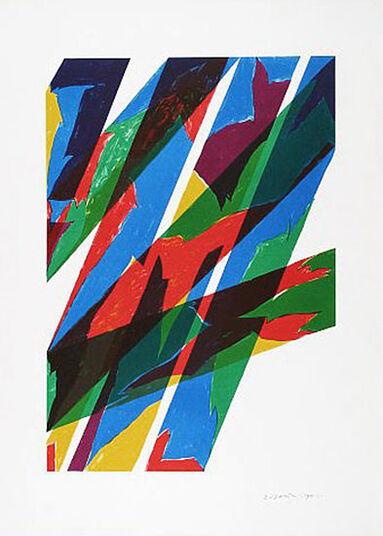 """Piero Dorazio: Bild """"Contrario"""" (1970)"""
