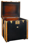Victorian travelling chest