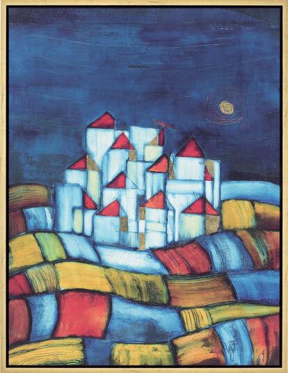 """Friedrich Wurm: Picture """"Little Town"""""""